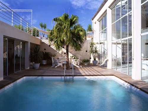 Architecture de collection - Photo maison avec piscine ...