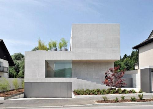 Maison au design minimaliste for Architecture maison design