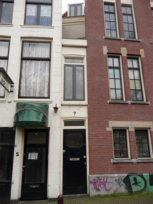 maison étroite (pas large) Amsterdam