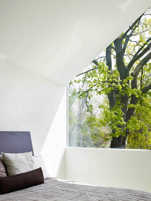 Chambre à coucher moderne et design