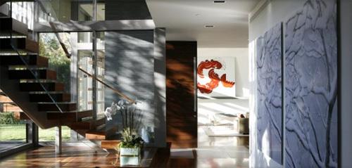 Escalier moderne et design