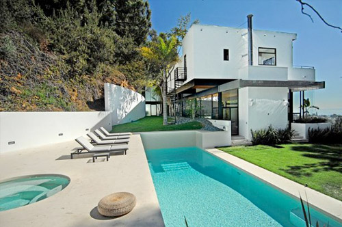 Maison d 39 architecte contemporaine los angeles - La maison de la piscine ...