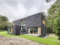 Maison contemporaine dans la forêt par Zecc