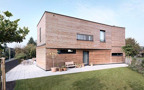 la maison en bois d'architecte