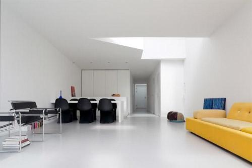 séjour maison d'architecte