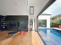 Maison en brique avec extension contemporaine