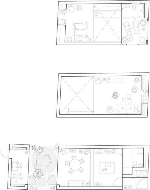 Plans maison d'architecte
