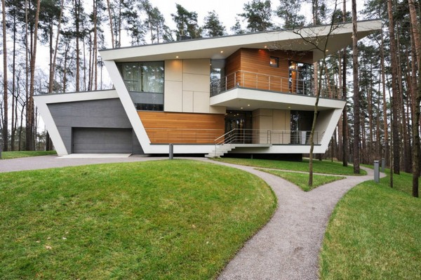 Gorki House, maison d&rsquo;architecte  Moscou