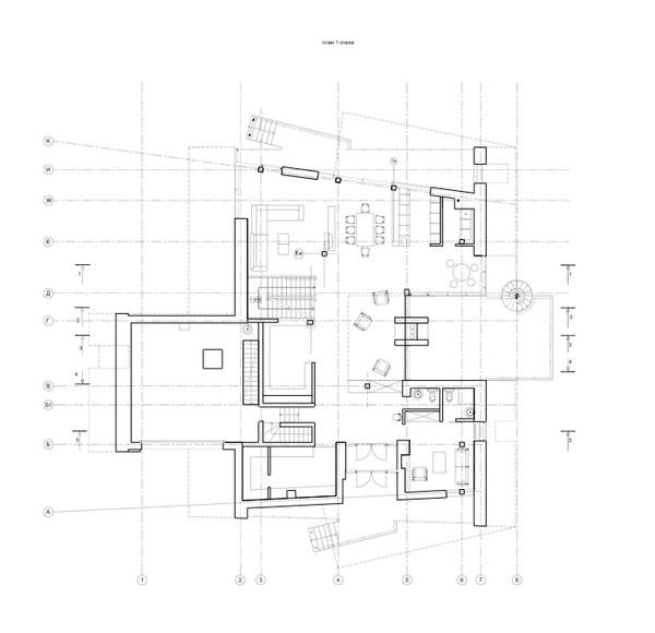 Maison d'architecte à Moscou