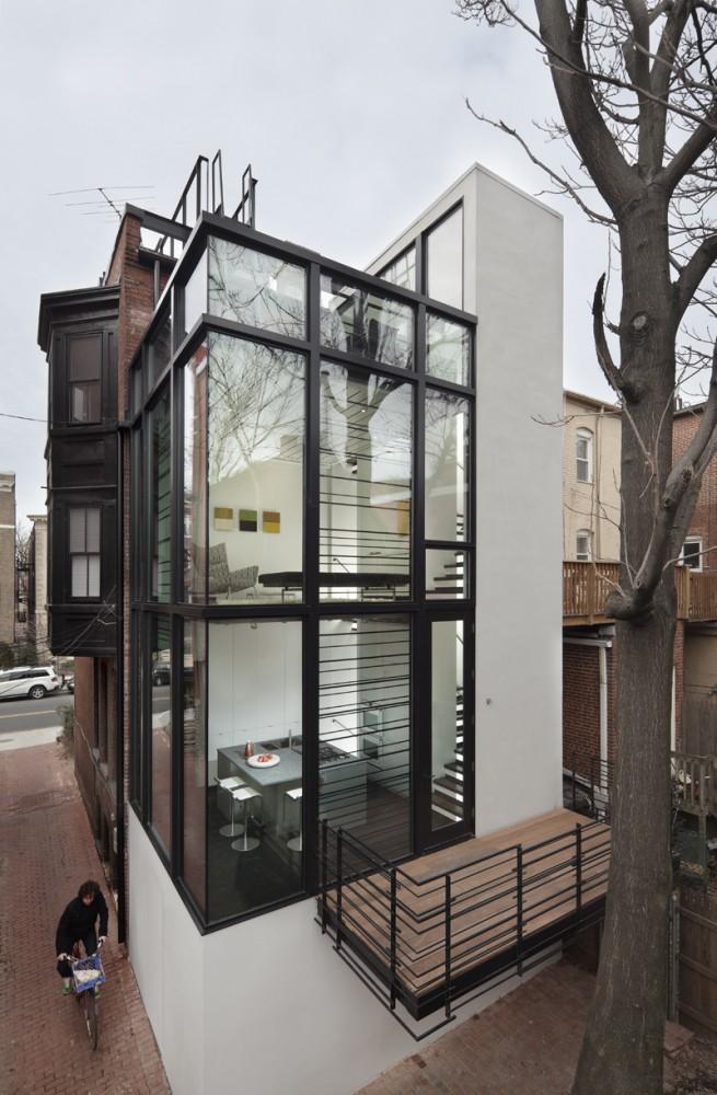 Extension contemporaine washington - Small spaces big ideas plan ...