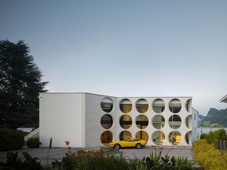 O House, maison d'architecte en Suisse