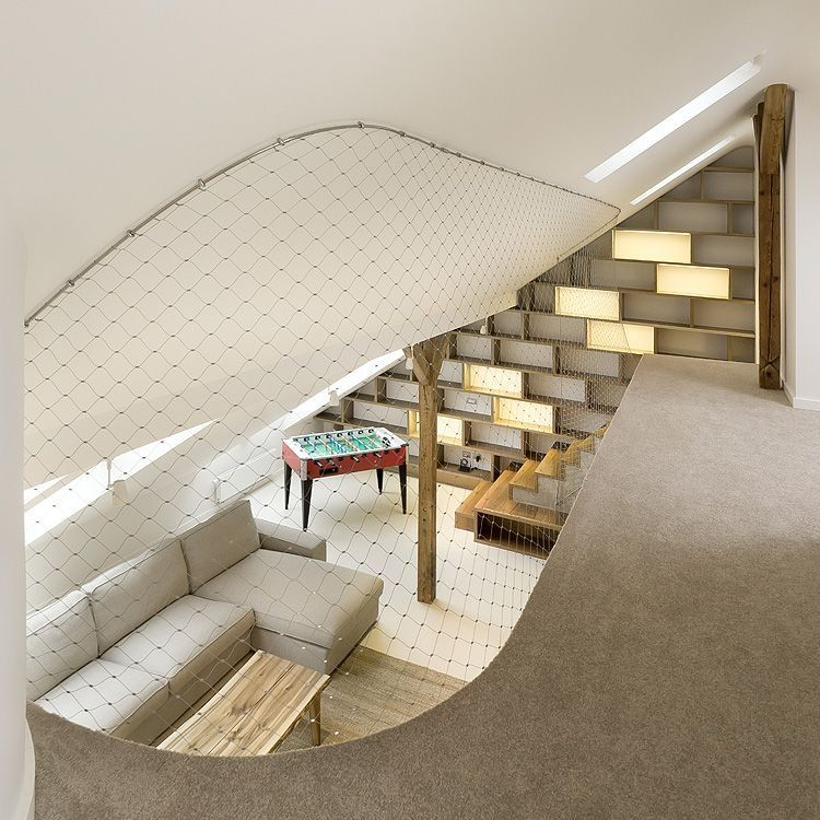 Mezzanine en filet d 39 acier - Filet mezzanine prix ...