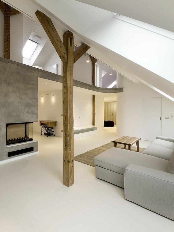 Appartement contemporain prague for Appartement contemporain