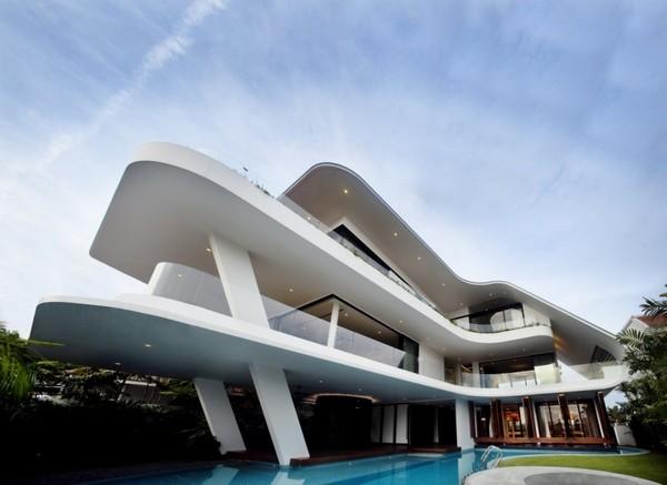 Maison style yacht for Maison style architecte
