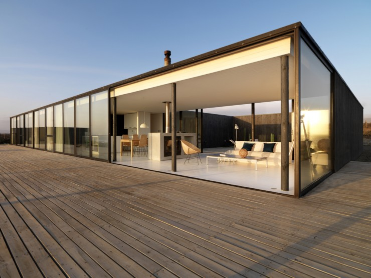 Maison d 39 architecte avec vue sur la mer for Facade maison architecte