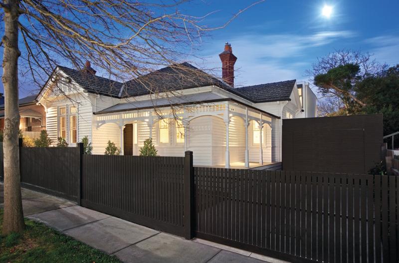 Maison avec extension moderne