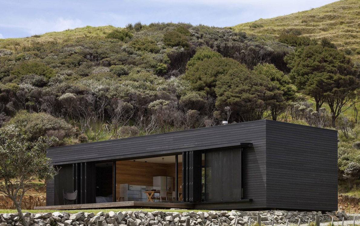 Storm Cottage par Fearon Hay Architects