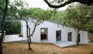 Maison sur un terrain en pente