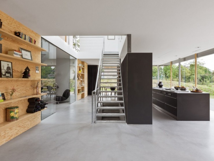 Am nagement d 39 une maison d 39 architecte aux pays bas for Interieur maison d architecte