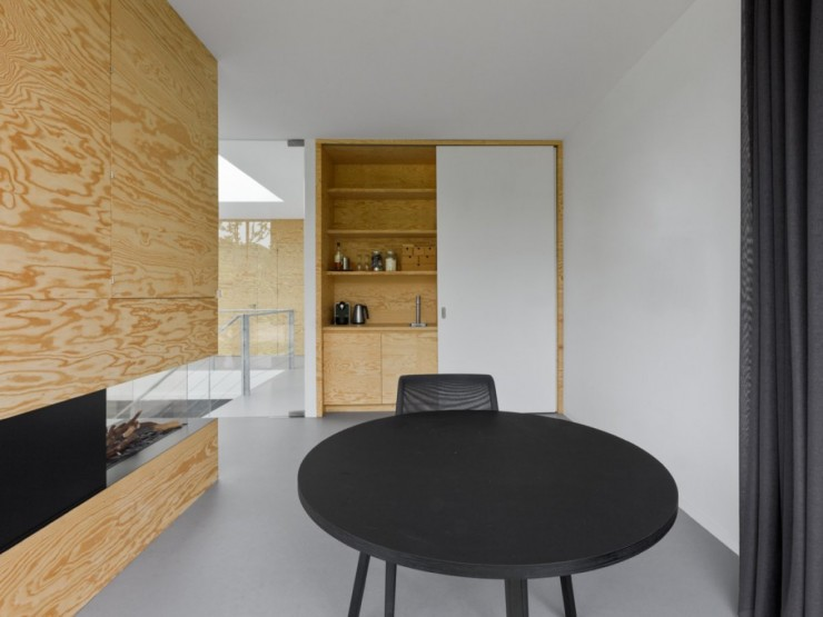 Am nagement d 39 une maison d 39 architecte aux pays bas - Villa nefkens wageningen aux pays bas ...
