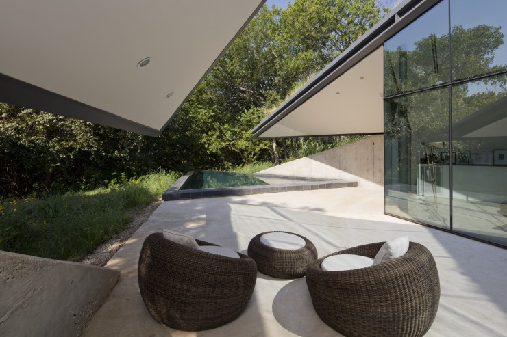 Terrase de la maison