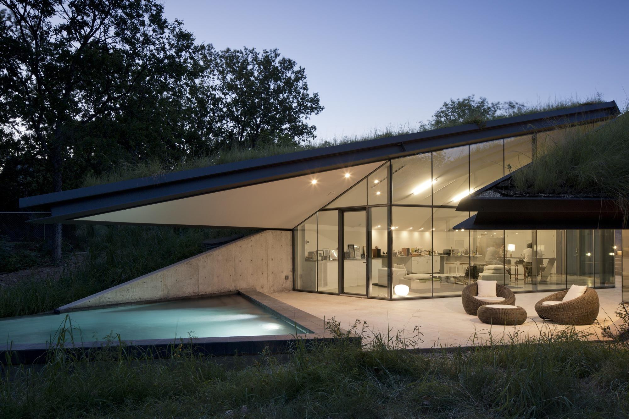 Très Eclairage d'une maison d'architecte NO26